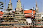Wat Pho (Wat Po) (Wat Phra Chetuphon), oldest Buddhist temple in the city, Rattanakosin (Ratanakosin), Bangkok, Thailand, Southeast Asia, Asia Stock Photo - Premium Rights-Managed, Artist: Robert Harding Images, Code: 841-05846788