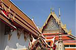 Wat Pho (Wat Po) (Wat Phra Chetuphon), oldest Buddhist temple in the city, Rattanakosin (Ratanakosin), Bangkok, Thailand, Southeast Asia, Asia Stock Photo - Premium Rights-Managed, Artist: Robert Harding Images, Code: 841-05846797