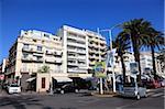 Boulevard de la Croisette, La Croisette, Cannes, Alpes Maritimes, Provence, Cote d'Azur, France, Europe