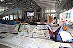 Occupy Central protest, anti-capitalist protesters set up camp under the atrium of the HSBC Headquarters, November 2011, Central, Hong Kong, China, Asia Stock Photo - Premium Rights-Managed, Artist: Robert Harding Images, Code: 841-05846865
