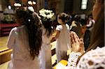 First Communion celebration in a Catholic church, Paris, France, Europe Stock Photo - Premium Rights-Managed, Artist: Robert Harding Images, Code: 841-05846897