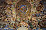 Arcade murals depicting religious figures and scenes, Church of the Nativity, Rila Monastery, UNESCO World Heritage Site, Bulgaria, Europe Stock Photo - Premium Rights-Managed, Artist: Robert Harding Images, Code: 841-05847119