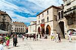 Narodni Trg square, Split, region of Dalmatia, Croatia, Europe Stock Photo - Premium Rights-Managed, Artist: Robert Harding Images, Code: 841-05847272