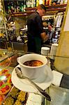Caffe espresso on a counter of cakes, Venice, Veneto, Italy, Europe Stock Photo - Premium Rights-Managed, Artist: Robert Harding Images, Code: 841-05847352