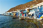 Old fishing village of Klima, Milos, Cyclades Islands, Greek Islands, Aegean Sea, Greece, Europe Stock Photo - Premium Rights-Managed, Artist: Robert Harding Images, Code: 841-05847499