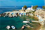 Fishing port and village of Mandrakia, Milos, Cyclades Islands, Greek Islands, Aegean Sea, Greece, Europe Stock Photo - Premium Rights-Managed, Artist: Robert Harding Images, Code: 841-05847505