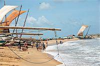 Fishermen's catamaran oruwa boats, Negombo coast, Sri Lanka, Indian Ocean, Asia Stock Photo - Premium Rights-Managednull, Code: 841-05847745