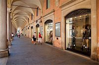 Arcade of shops, Modena, Emilia Romagna, Italy, Europe Stock Photo - Premium Rights-Managednull, Code: 841-05847865