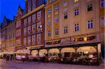Restaurants, Market Square (Rynek), Old Town, Wroclaw, Silesia, Poland, Europe Stock Photo - Premium Rights-Managed, Artist: Robert Harding Images, Code: 841-05847977