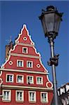 Lampost and colourful architecture, Salt Square, Old Town, Wroclaw, Silesia, Poland, Europe Stock Photo - Premium Rights-Managed, Artist: Robert Harding Images, Code: 841-05847991