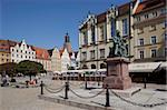 Market Square and Aleksander Fredro statue, Old Town, Wroclaw, Silesia, Poland, Europe Stock Photo - Premium Rights-Managed, Artist: Robert Harding Images, Code: 841-05847992