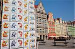 Souvenirs, Market Square, Old Town, Wroclaw, Silesia, Poland, Europe Stock Photo - Premium Rights-Managed, Artist: Robert Harding Images, Code: 841-05848003