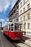 City tram, Old Town, Wroclaw, Silesia, Poland, Europe Stock Photo - Premium Rights-Managed, Artist: Robert Harding Images, Code: 841-05848007