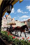 Market Square, Old Town, Wroclaw, Silesia, Poland, Europe Stock Photo - Premium Rights-Managed, Artist: Robert Harding Images, Code: 841-05848010