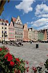 Market Square from cafe, Old Town, Wroclaw, Silesia, Poland, Europe Stock Photo - Premium Rights-Managed, Artist: Robert Harding Images, Code: 841-05848012