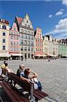 Market Square, Old Town, Wroclaw, Silesia, Poland, Europe Stock Photo - Premium Rights-Managed, Artist: Robert Harding Images, Code: 841-05848013