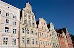 Colourful architecture, Market Square, Old Town, Wroclaw, Silesia, Poland, Europe Stock Photo - Premium Rights-Managed, Artist: Robert Harding Images, Code: 841-05848037