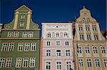 Colourful architecture, Market Square, Old Town, Wroclaw, Silesia, Poland, Europe Stock Photo - Premium Rights-Managed, Artist: Robert Harding Images, Code: 841-05848040