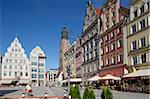 Market Square, Old Town, Wroclaw, Silesia, Poland, Europe Stock Photo - Premium Rights-Managed, Artist: Robert Harding Images, Code: 841-05848075