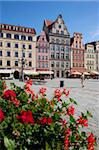 Market Square from restaurant, Old Town, Wroclaw, Silesia, Poland, Europe Stock Photo - Premium Rights-Managed, Artist: Robert Harding Images, Code: 841-05848082