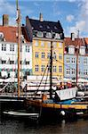 Nyhavn, Copenhagen, Denmark, Scandinavia, Europe Stock Photo - Premium Rights-Managed, Artist: Robert Harding Images, Code: 841-05848159