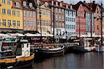 Nyhavn, Copenhagen, Denmark, Scandinavia, Europe Stock Photo - Premium Rights-Managed, Artist: Robert Harding Images, Code: 841-05848160