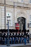 Guards at the Amalienborg Castle, Copenhagen, Denmark, Scandinavia, Europe Stock Photo - Premium Rights-Managed, Artist: Robert Harding Images, Code: 841-05848219