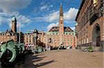 City Hall Square, Copenhagen, Denmark, Scandinavia, Europe Stock Photo - Premium Rights-Managed, Artist: Robert Harding Images, Code: 841-05848231