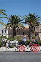 Horse and carriage and St. Nicholas Church, Zakynthos Town, Zakynthos, Ionian Islands, Greek Islands, Greece, Europe Stock Photo - Premium Rights-Managednull, Code: 841-05848265