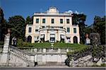 Lakeside villa, Cadenabbia, Lake Como, Lombardy, Italian Lakes, Italy, Europe Stock Photo - Premium Rights-Managed, Artist: Robert Harding Images, Code: 841-05848372