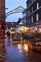 Newgate Market, York, Yorkshire, England, United Kingdom, Europe Stock Photo - Premium Rights-Managednull, Code: 841-05848477