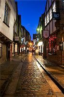 The Shambles at Christmas, York, Yorkshire, England, United Kingdom, Europe Stock Photo - Premium Rights-Managednull, Code: 841-05848480