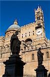 Exterior of the Norman Cattedrale (cathedral), Palermo, Sicily, Italy, Europe Stock Photo - Premium Rights-Managed, Artist: Robert Harding Images, Code: 841-05848661