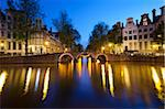 Herengracht and Leidsegracht at night, Amsterdam, North Holland, Netherlands, Europe Stock Photo - Premium Rights-Managed, Artist: Robert Harding Images, Code: 841-05848744