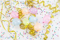 streamer - Balloons and Streamers Stock Photo - Premium Royalty-Freenull, Code: 600-05854211