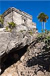 Maya Ruins, Tulum, Riviera Maya, Quintana Roo, Mexico Stock Photo - Premium Rights-Managed, Artist: Alberto Biscaro, Code: 700-05855025