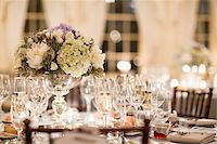 Table at Wedding Reception Stock Photo - Premium Rights-Managednull, Code: 700-05855053
