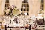 Table at Wedding Reception Stock Photo - Premium Rights-Managed, Artist: Ikonica, Code: 700-05855053