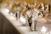 Flower Arrangement on Table Stock Photo - Premium Rights-Managednull, Code: 700-05855055