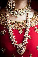 Close-Up of Bride's Jewelry Stock Photo - Premium Rights-Managednull, Code: 700-05855070