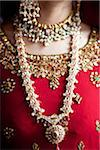 Close-Up of Bride's Jewelry Stock Photo - Premium Rights-Managed, Artist: Ikonica, Code: 700-05855070