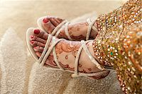 female feet close up - Close-Up of Bride's Feet Stock Photo - Premium Rights-Managednull, Code: 700-05855072