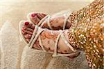 Close-Up of Bride's Feet Stock Photo - Premium Rights-Managed, Artist: Ikonica, Code: 700-05855072