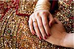 Bride's Folded Hands Stock Photo - Premium Rights-Managed, Artist: Ikonica, Code: 700-05855073