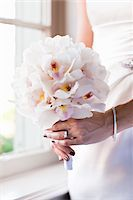 ring hand woman - Bride Holding Bouquet Stock Photo - Premium Rights-Managednull, Code: 700-05855110