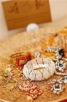 Jewelry on Gold Platter Stock Photo - Premium Rights-Managednull, Code: 700-05855115