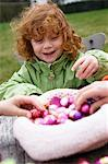 Children with Easter eggs Stock Photo - Premium Royalty-Free, Artist: Ikon Images, Code: 6108-05856087
