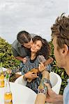 Man kissing a woman Stock Photo - Premium Royalty-Free, Artist: R. Ian Lloyd, Code: 6108-05863650