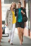 Two women walking in a corridor Stock Photo - Premium Royalty-Free, Artist: CulturaRM, Code: 6108-05864568