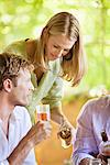 Family having drinks Stock Photo - Premium Royalty-Free, Artist: Susan Findlay, Code: 6108-05870640
